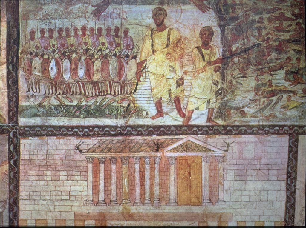 Roman Wall Painting Sea